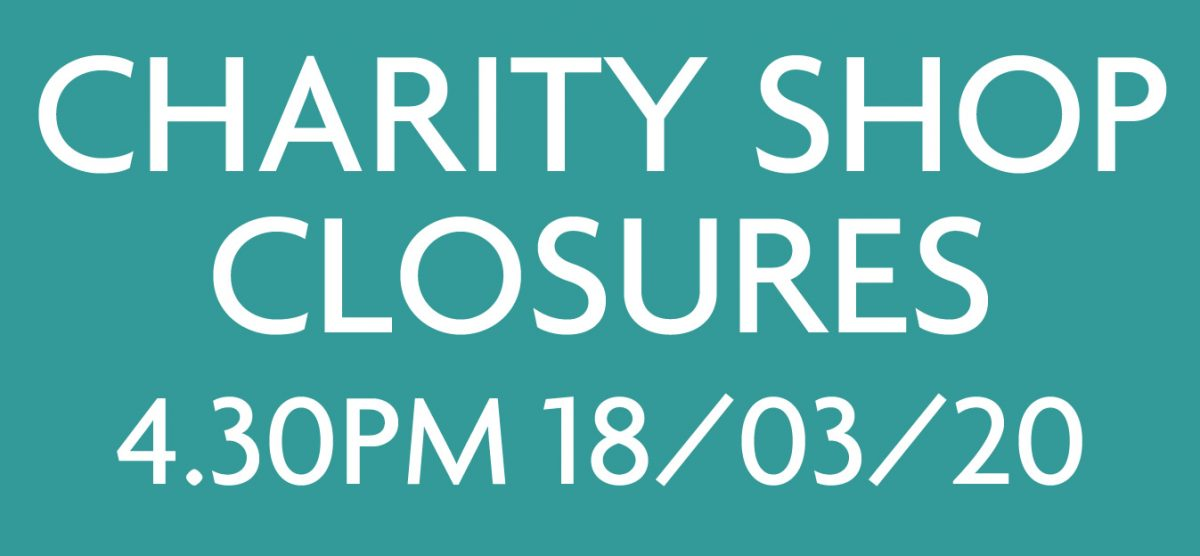COVID 19 – SHOP CLOSURE INFORMATION